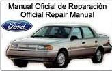 Manual De Reparacion Mecánica Ford Autos Topaz Taller 1992-1996
