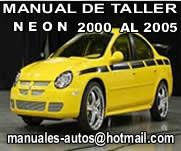 Neon 2000 2001 2002 – Manual De Mecanica y Reparacion
