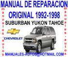 Suburban Yukon Tahoe 1992 al 1994 -Manual De Mecanica y Taller