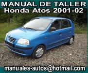 Honda Atos 2001 2005 Manual de Taller Servicio y Reparacion