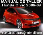 Manual de Reparación Mecanica Taller Honda Civic 2006 2007