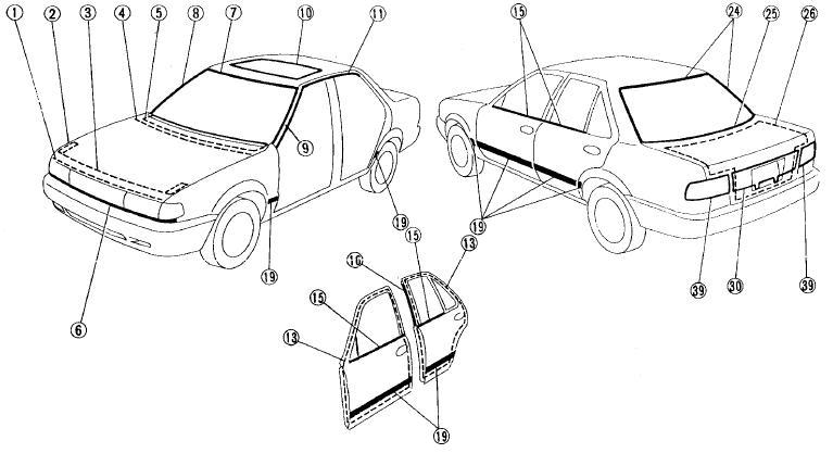 Manual Reparacion Nissan Tsuru 1992 1993 1994 1995 1996 1997