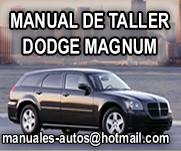 Magnum 2006 – Manual de Taller y Servicio Dodge