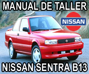 Manual Taller Reparacion Nissan Sentra B13