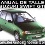 Manual De Reparación Taller Suzuki Swift Gti