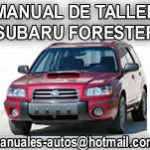 Manual Reparacion Subaru Forester 2004 2005