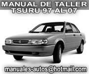 Manual de Reparacion Nissan Tsuru 2001