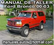 Ford Bronco 2000 al 2003 – Manual De Reparacion y taller