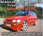 Manual De Reparacion Toyota Corolla 1984 al 1992