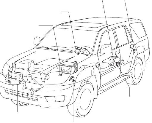 toyota 4runner 2007 - manual de reparacion mecanica
