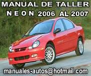 Neon 2006 2007 Manual de reparacion y Servicio