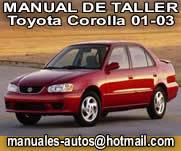 Toyota Corolla 2001 – Manual De Reparacion y Servicio