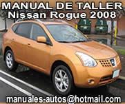 Nissan Rogue 2008 – Manual de Reparacion y Taller