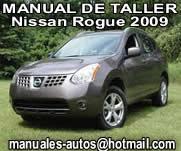 Nissan Rogue 2009 – Manual de Reparacion y Taller