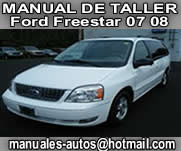 Ford Freestar 2007 2008 – Manual De Reparacion y Tallar