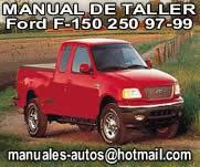 F-150 250 1997 1998 1999 Manual De Servicio y Taller Ford