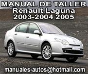 Renault Laguna 2003 2004 2005 – Manual De Despiece y Reparacion
