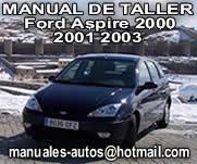 Ford Aspire 2000 al 2003 – Manual De Reparacion y Servicio