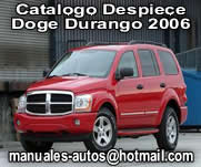 2006 Dodge Durango – Catálgo De Despiece