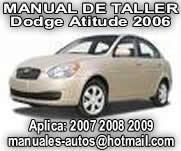 2006 Dodge Attitude – Manual De Reparacion