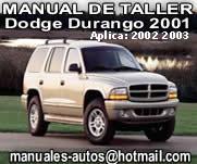 2001 2003 Dogde Durango – Manual De Reparacion y Taller