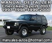 cherokee sport – Manual De Reparacion y Taller 1997 al 2001