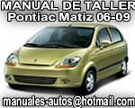 2006 Pontiac Matiz G2 – Manual De Servicio y Taller