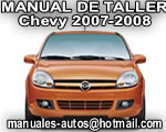 Chevy 2007 2008 – Manual De Reparación y Servicio