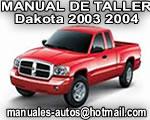 2003 Dakota – Manual De Reparacion y Servicio