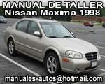 1998 Nissan Máxima – Manual de Servicio y Taller