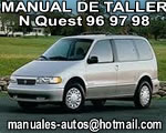 1996 Nissan Quest – Manual de Servicio y Taller