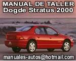 Dogde Stratus 2000 – Manual de Reparacion, Despiece y Eléctrico