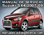 2007 Suzuki SX4 – Manual De Servicio y Reparación