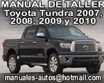 Tundra 2007 2008 Manual de Reparacion Toyota