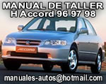 Accord Honda 1996 1997 1998 Manual de Reparacion
