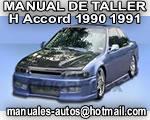 Accord Honda 1990 1991 – Manual de Mantenimiento y Reparacion