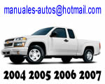 Manual De Taller Mecanico Chevrolet Colorado 2004 2005 2006 2007