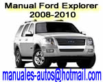 Manual de Reparacion Mecanica Ford Explorer 2008 2009 2010