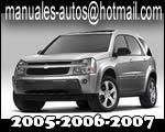 Manual De Mantenimiento y Servicio Chevrolet Equinox 2005 2006 2007