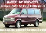Manual De Mecanica Chevrolet Astro 1996-2005