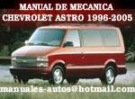 Chevrolet Astro Van 1996 1997 Manual De Reparacion y Taller