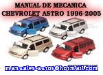 Chevrolet Astro Van 1998 1999 2000 Manual De Reparacion y Taller