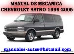 Chevrolet Astro Van 2003 Manual De Reparacion y Taller