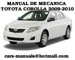 Toyota Corolla 2009 2010 Manual de Reparacion Mecanica