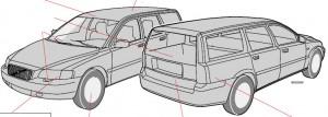 Manual De Propietario y Usuario Volvo xc70 v70 2005