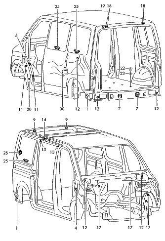 Manual De Reparacion Despiece Volkswagen Eurovan