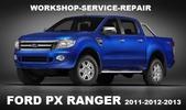 Ford Ranger 2012 2013 Manual De Reparacion Mecanica Taller