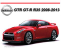 Nissan gtr Sports Car 2008 -2013 GT-R Manual Mecanica de Propietario